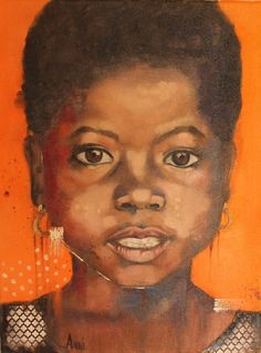 """Vijana (""""Young"""") in the Paintings category was listed for on 4 Jan at by Anni Art in Cape Town Original Paintings For Sale, The Originals, Black Art"""