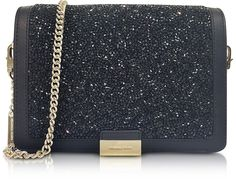 Michael Kors Jade Black Crystals and Leather Clutch #commissionlink