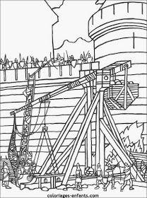 Escuela infantil castillo de Blanca: FICHAS PREESCOLAR: EL CASTILLO Chateau Princesse Disney, Château Fort, Medieval, Oeuvre D'art, Coloring Pages, Forts, Printables, Crafts, Drawings