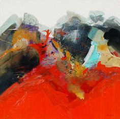 Gregory Deane is a visual virtuoso whose every brushstroke breathes passion. Specializing in abstract and nonobjective painting he applies paint generously, using colors vividly; his lines give a sense of movement that overflows with poetic emotion.