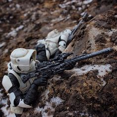 Biker Scout Sniper / - rpg mass effect - Toys Star Wars Droids, Star Wars Toys, Star Wars Art, War Photography, Figure Photography, Empire, Sith, Star Wars Models, Star Wars Wallpaper