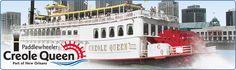 New Orleans Creole Queen | Mississippi River Cruises; Your Source for tickets and info on the Creole Queen in New Orleans, LA