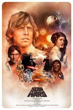 Galaxy Fantasy: Fan Art: Fantásticas portadas de Star Wars