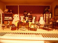 miniature room boxes - Google Search