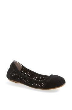 TOMS 'Moroccan Cutout' Ballet Flat (Women) available at #Nordstrom