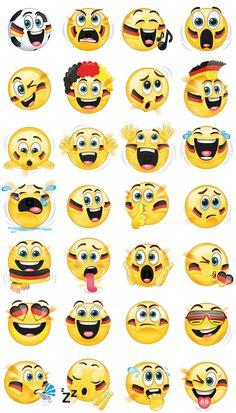 Animierte Fußball Emojis für VW. Zur EM gibt es tolle Fußball Emojis fürs Handy: La-Ola-Welle, Torjubel, Bibbern vorm Elfmeter und natürlich Länder Emojis!