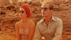I love this film: 'The Sheltering Sky'  An American couple (John Malkovich and Debra Winger) who are itinerant bohemian travelers journey through North Africa, exploring their 10 year marriage in the hope of restarting their relationship.