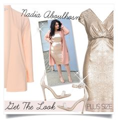 """Nadia Aboulhosn ; Get the Look"" by captainsilly ❤ liked on Polyvore featuring Ariella"
