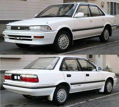 Corolla 1990 Corolla Twincam, Toyota Corolla, Lexus Cars, Jdm Cars, Retro Cars, Vintage Cars, 1990s Cars, Ae86, Toyota Cars