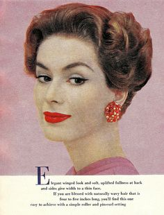 Hairdos for Spring, Mc Call's, 1959 | Flickr