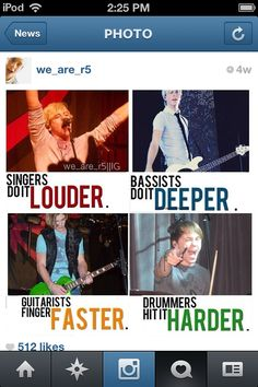 R5...AWESOMEST BAND EVER!!!!!!