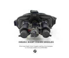 Night Vision Goggles, Israel (circa used by CIA to illuminate targets. Night Vision Monocular, Spy Gadgets, Low Lights, Binoculars, Survival, Helmet, 1980s, Israel, Anos 80