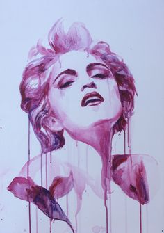 Painting of Madonna by Selma Copijn