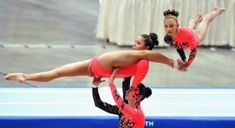 10 Most Extreme Acrobatic Gymnastics (acrobatic gymnastics, extreme gymnastics) - ODDEE Gymnastics Tricks, Gymnastics Poses, Amazing Gymnastics, Acrobatic Gymnastics, Gymnastics Workout, Olympic Gymnastics, Gymnastics Girls, Psoas Release, Gymnastics Flexibility