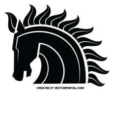 Vector silhouette of mustang. Free Vector Images, Vector Free, Horse Clip Art, Horse Clipping, Stencil Art, Creative Logo, Ancestry Records, Mustang, Vectors