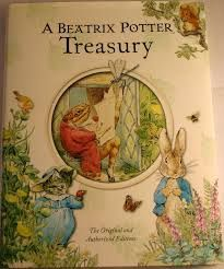 A beatrix potter treasury. Levels k-2. this book has simple words and beautifully detailed illustrations. This book would be useful for literal comprehension and word decoding strategies.