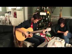 "For Christmas, Danny Hamilton wrote a funny song for his deaf father who recently acquired hearing aids affectionately titled ""I Liked You Better Deaf."" Hamilton recounts all the mischief he could get away with as a boy when his dad was hard of hearing. Songs About Dads, Songs For Sons, Funny Songs, Videos Funny, Nerd Humor, I Like You, Father And Son, Got Him, Make Me Smile"