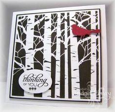 Image result for birch tree stencil