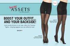 "Love Your ASSETS, the less expensive ""spanx"""