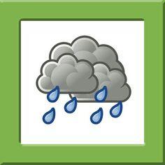 Weerkaartjes Pompom Seasons Activities, Nature Activities, Science Activities, Month Weather, Weather Seasons, Weather Storm, Weather Unit, Sistema Solar, Science For Kids