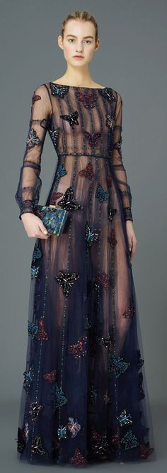 Valentino Pre-Fall 2015/ I love the cut and fall of this dress.