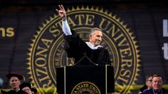 """Summon your compassion, your curiosity, your empathy towards others and your commitment to service,"" Starbucks Executive Chairman Howard Schultz told the gr. Howard Schultz, The Gr, Hope For The Future, Arizona State University, Summoning, Make It Through, Good Advice, Compassion, Starbucks"