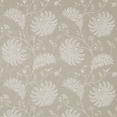 Style Library - The Premier Destination for Stylish and Quality British Design | Products | Mapperton Fabric (DPGR236340) | Palm Grove | By Sanderson