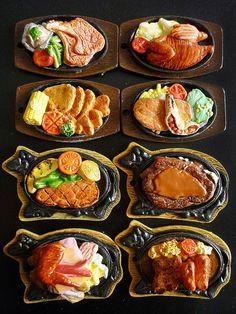 Teppanyaki miniatures by karenisme08, via Flickr