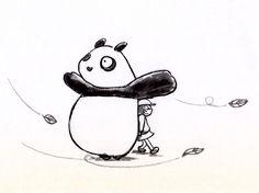 【一日一大熊猫】 2014.10.13 発生場所ではハリケーンでも日本の方に流れて 台風に名前が変わったりするみたいだね。 今から名前を変えようとしている人は気になるところだね。 #pandaJP #台風