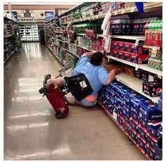 Fat people falling