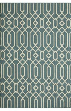 Momeni Baja BAJ3 Blue Rug - Purchase a 6x9 in blue for outdoor sitting area outside of master bedroom