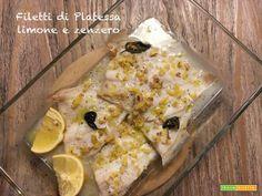 Filetti di platessa, limone e zenzero  #ricette #food #recipes