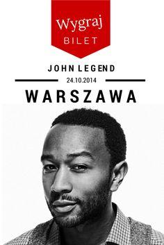 John Legend w Warszawie - 24.10.2014. Wygraj bilet z Klubem Zdobywców Biletów! http://klub.fm/2014/08/john-legend-konkurs/