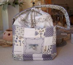 """A&B-80 """"petite bourse patch grise Points, Diaper Bag, Bags, Scrappy Quilts, Small Purses, Bergamot Orange, Handbags, Diaper Bags, Mothers Bag"""