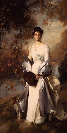 John Singer Sargent—Pauline Astor