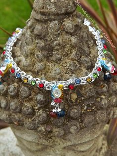 ♥ STRIKING BOHO GYPSY BELLS HIPPIE ANKLET £10 ~ Available at 'Moonbeams and Mayhem' ~ ♥