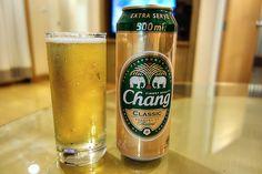 Chang Beer in Bangkok , Thailand