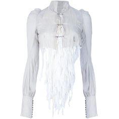 IF SIX WAS NINE Fringed bolero jacket ($805) ❤ liked on Polyvore