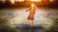Happy little girl/ emotions! by Serg  Piltnik (Пилтник) on 500px