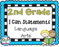 1000+ images about 2nd grade I can statements on Pinterest ...