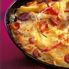 Zigeuner-Kartoffelblech