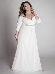 Vestidos de boda para rellenitas