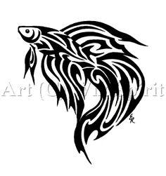 tribal tattoos   Trend Tribal Fish Tattoos Designs - Koi Fish Tattoos - Zimbio