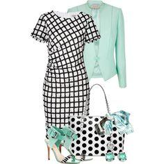 black, white  turquoise