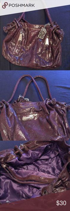 Kathy Van Zeeland Bag Gorgeous purple handbag/purse. Gently used a few times. Kathy Van Zeeland Bags Shoulder Bags