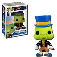 Funko POP Disney Jiminy Cricket Vinyl Figure http://popvinyl.net #funko #funkopop #popvinyl