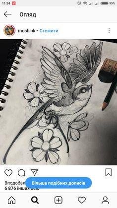 Traditional Tattoo Flowers, Neo Traditional Tattoo, Tattoo Sketches, Tattoo Drawings, Swallow Bird Tattoos, Insect Tattoo, Japanese Tattoo Art, Desenho Tattoo, Tattoo Project