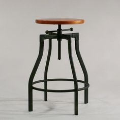 barhocker industrial vintage fabrikschick barhocker industrial style vintage design bar stool. Black Bedroom Furniture Sets. Home Design Ideas