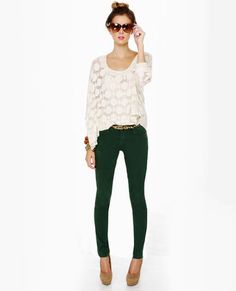 I love this outfit! The jeans are perfect for fall and would look great with riding boots!
