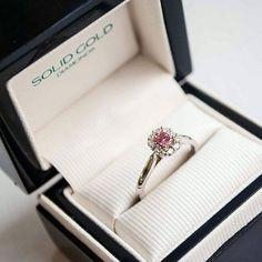 Pink Diamond Rings Australia - Solid Gold Diamonds Perth & Adelaide Pink Diamond Engagement Ring, Pink Diamond Ring, Engagement Rings, Argyle Pink Diamonds, Perth, Solid Gold, Halo, Heart Ring, Cufflinks